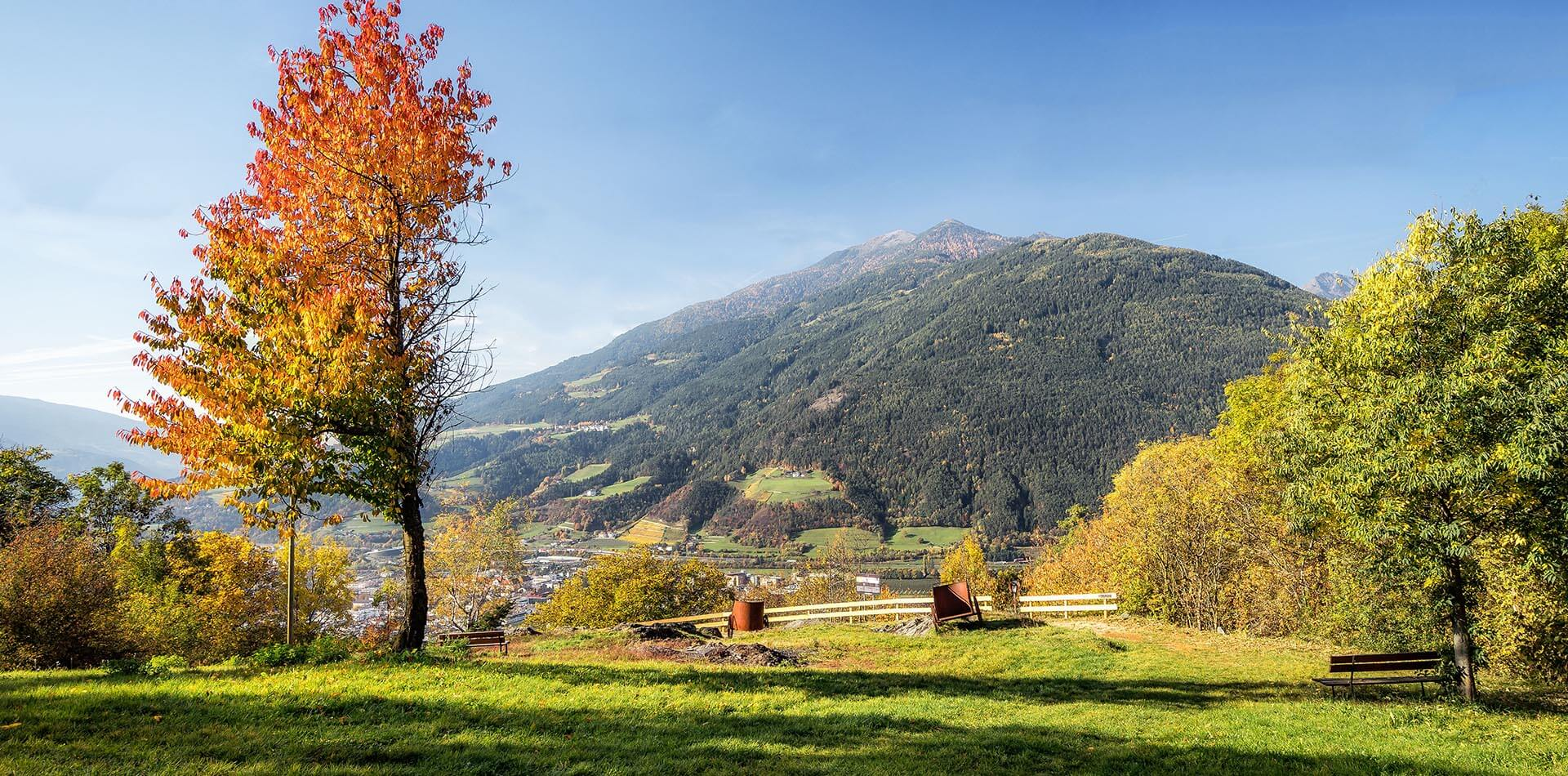 Autunno in Valle Isarco in Alto Adige