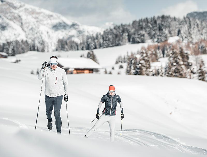 Skiurlaub in Brixen – Rodelbahnen und Langlaufloipen