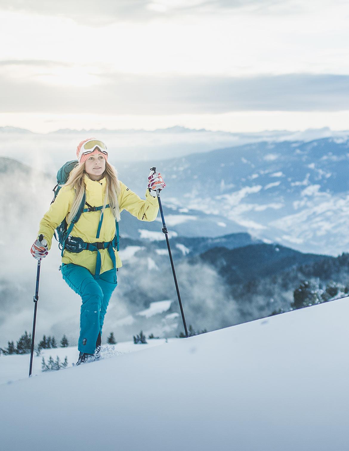 Schneeschuhwanderungen und Skitouren